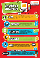 Be SMART online poster